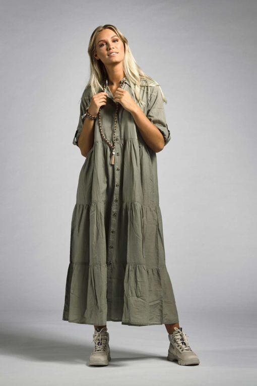 Klänning, Ajlajk, Skjortklänning, army