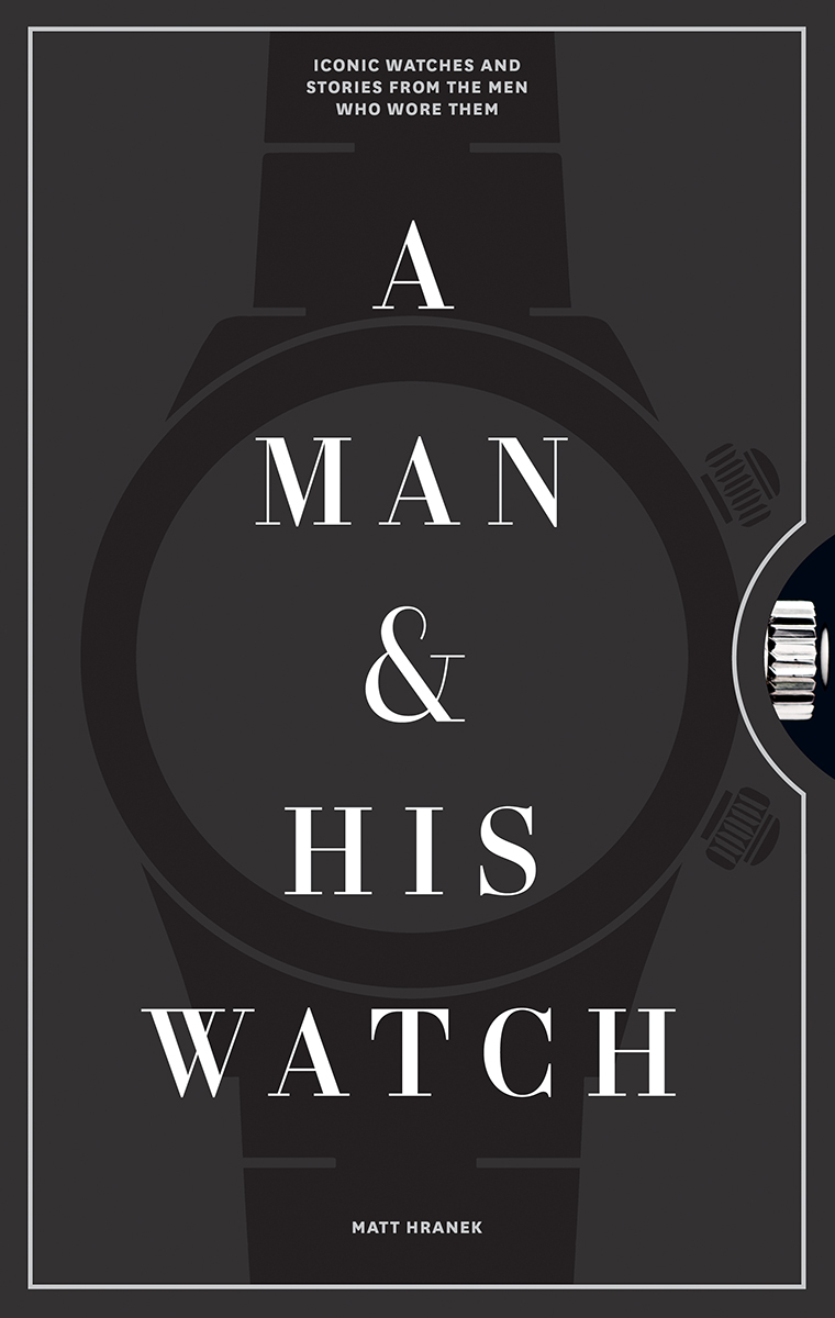 Bok, Coffetable book, A man and his Watch