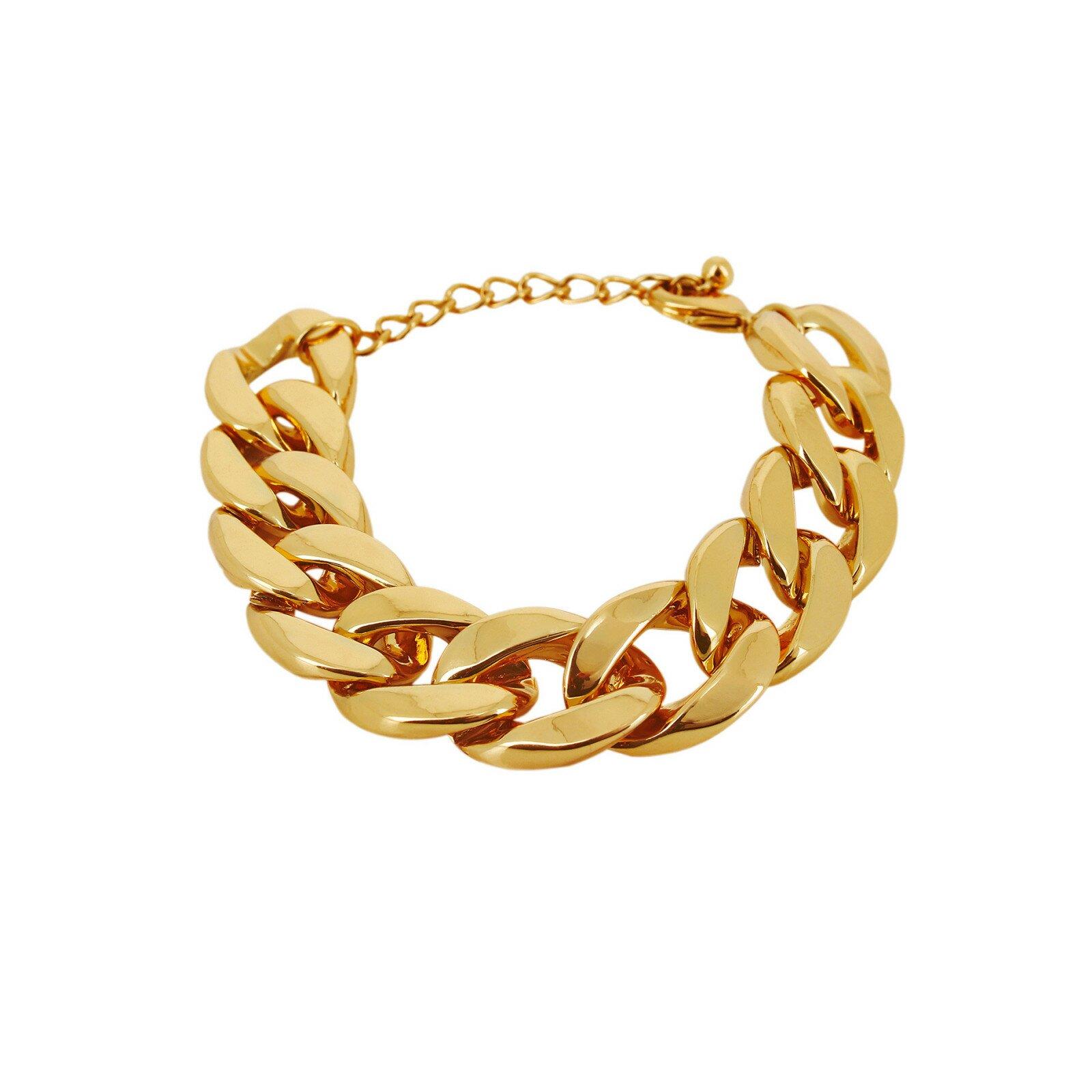Armband, DNSK, Quiver Curb Guld