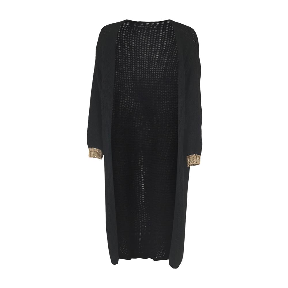Cardigan, Black Colour, Lorrie Long Knit