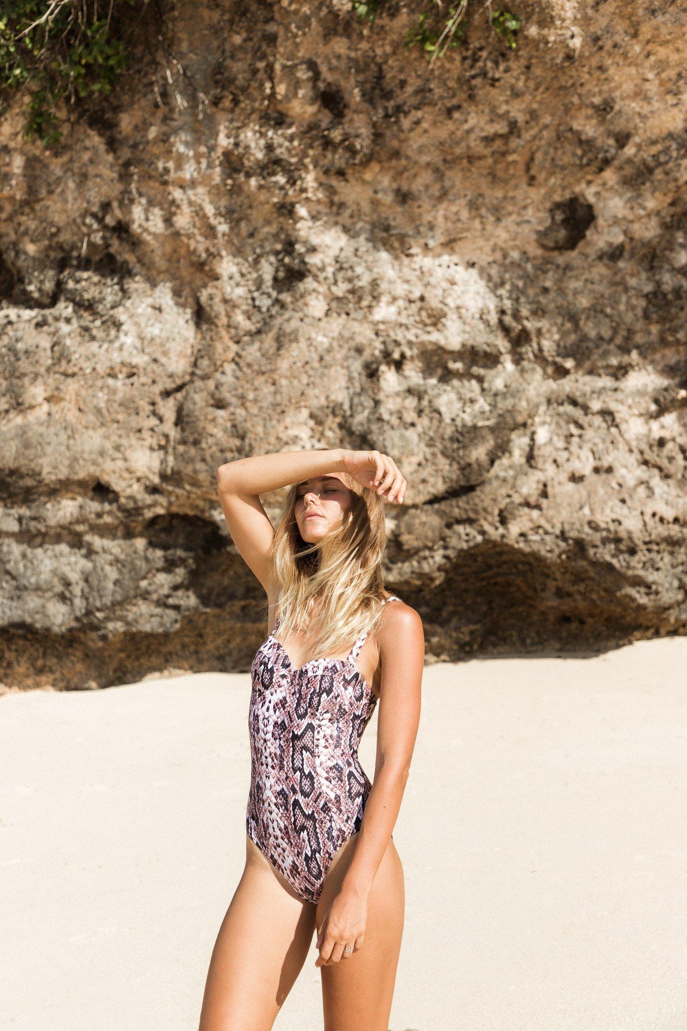 Baddräkt, Kaanda Beach Life, Stella Snake Surf Balconette