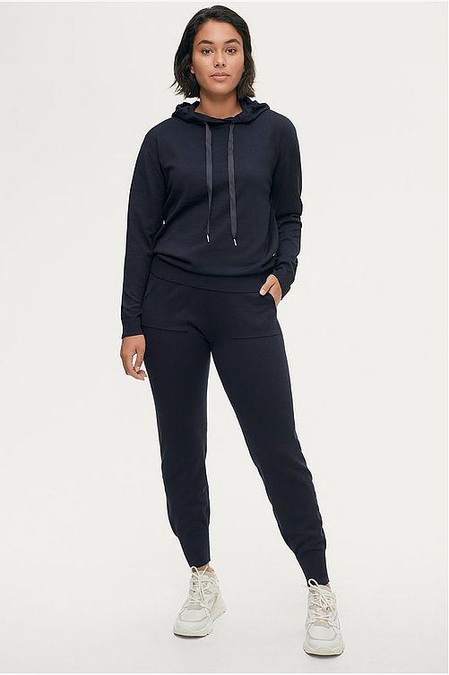 Byxa, Saint Tropez, AdithaSZ pants, svart