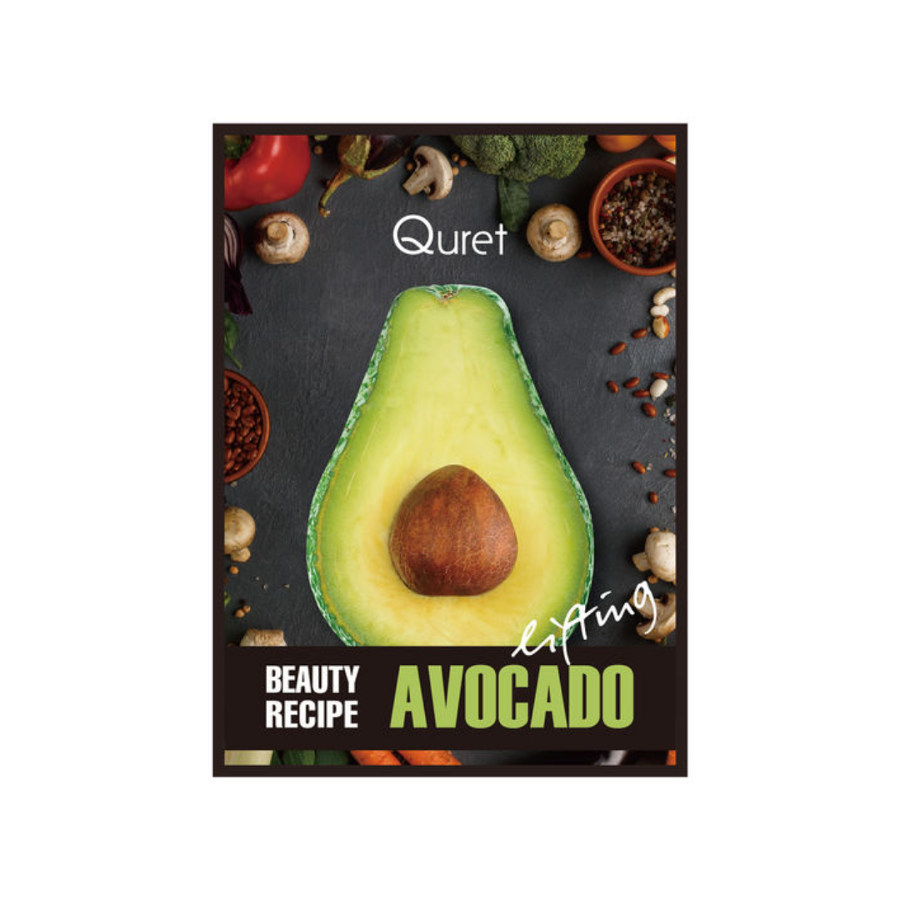 Beauty Recipe Avocado mask, Quret