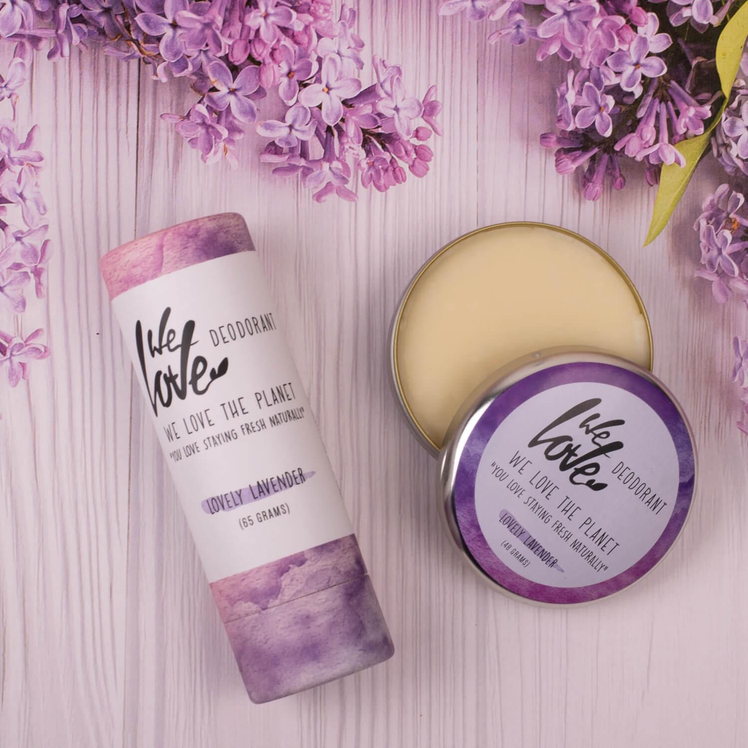 Lovely Lavender, deodorant, We Love The Planet