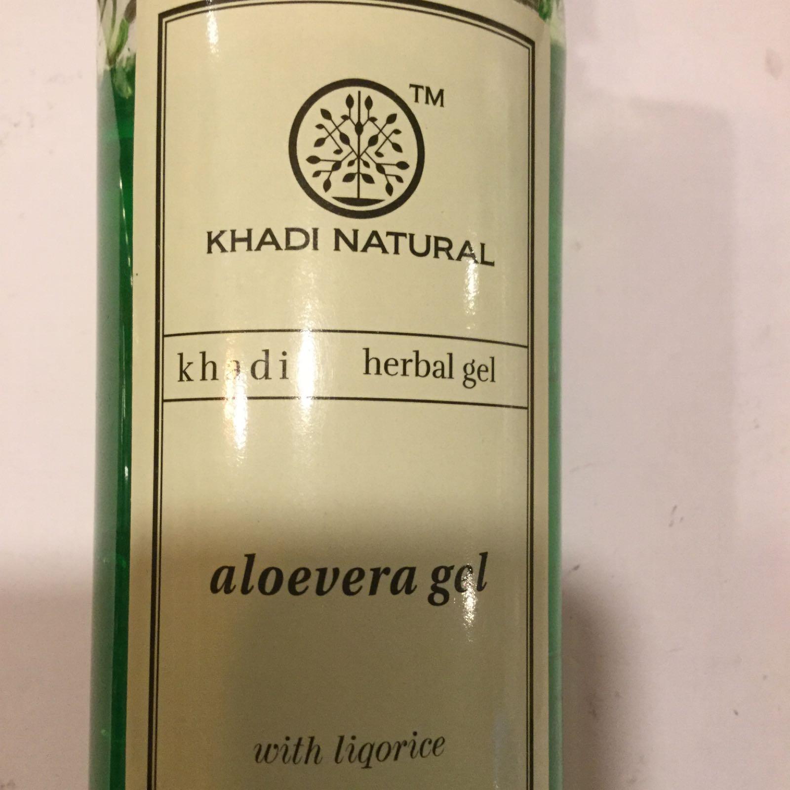 Khadi Aloe Vera gel