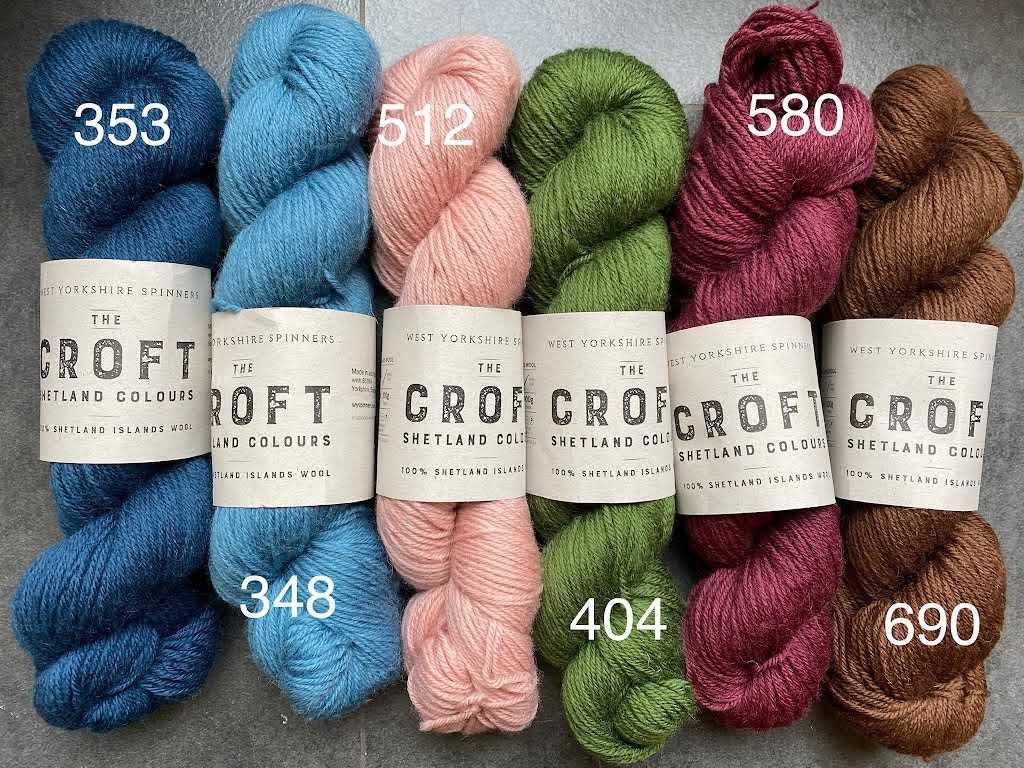 Croft Shetland DK - Solids
