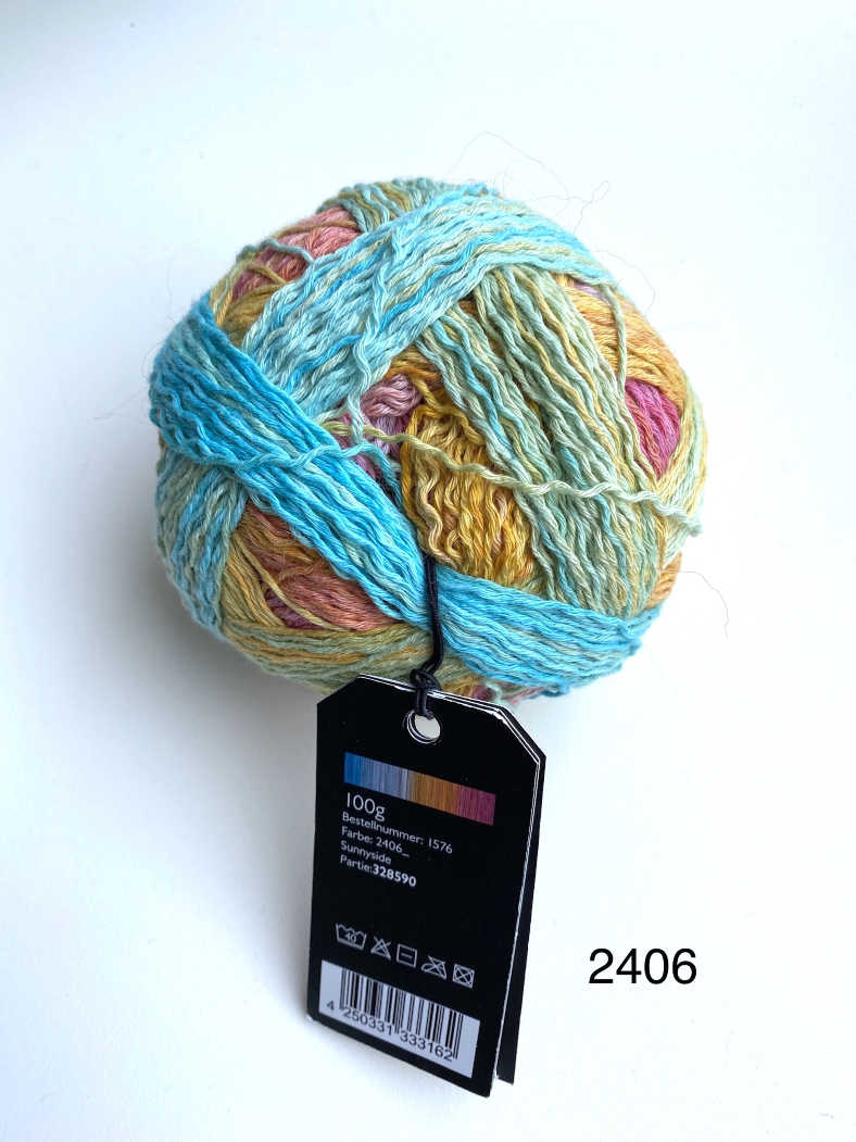 Zauberball Cotton - 4ply