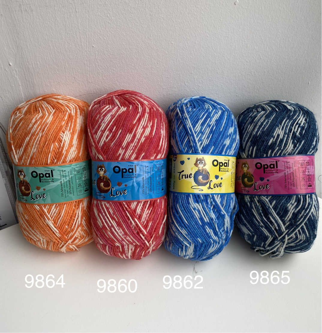 Opal True Love 4ply Sock