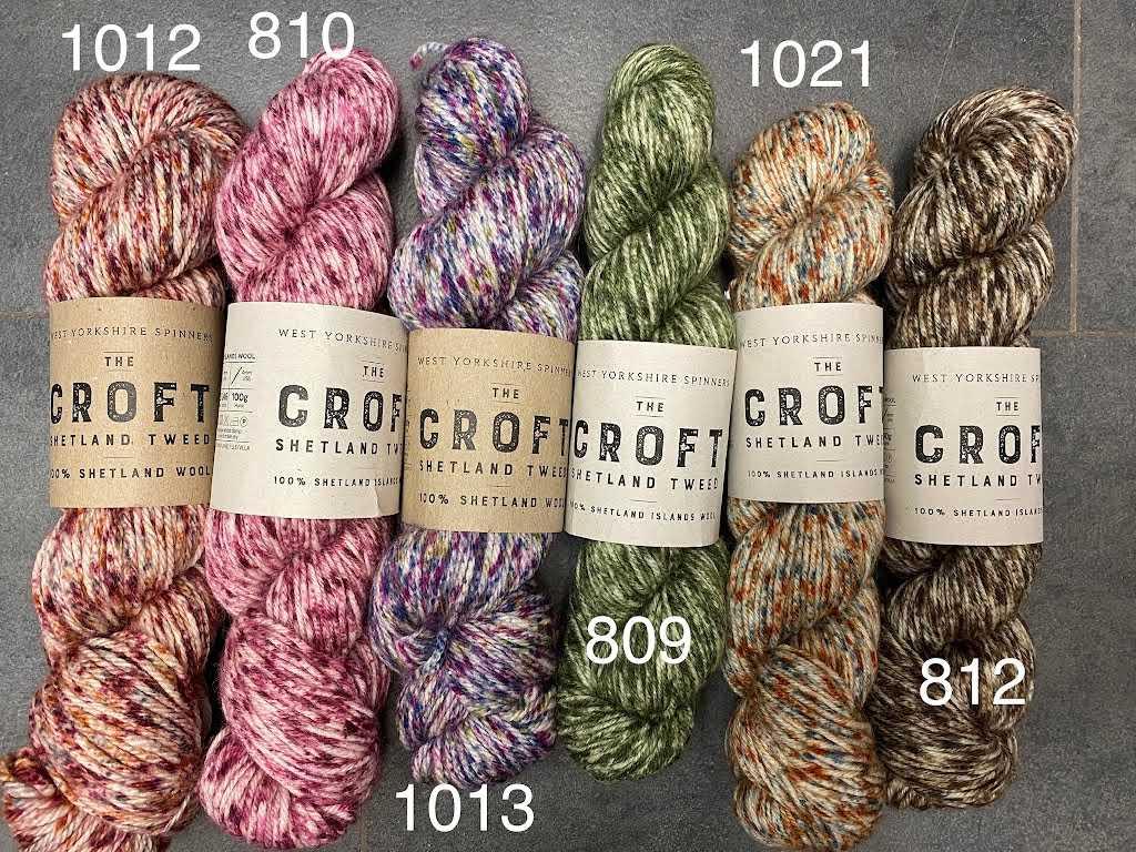 Croft Shetland DK - Tweed
