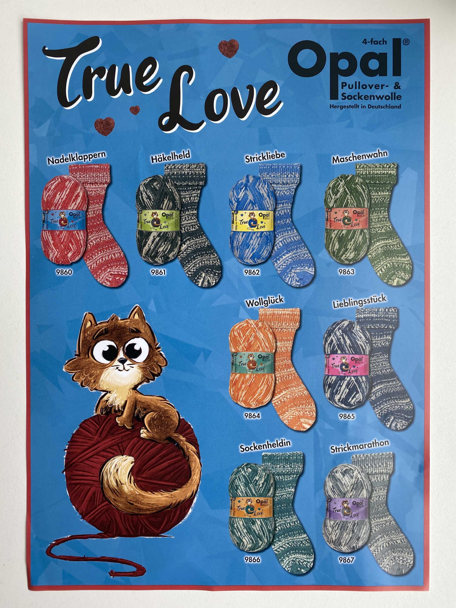 Opal True Love 4ply Sock