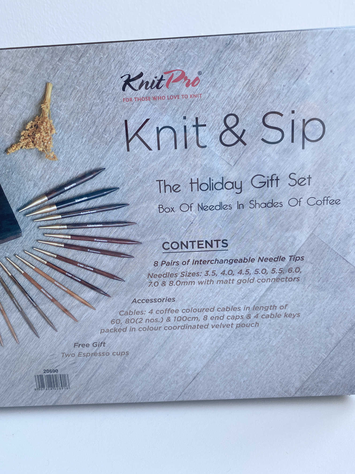 Knit Pro Limited Edition 2020 Knit and Sip