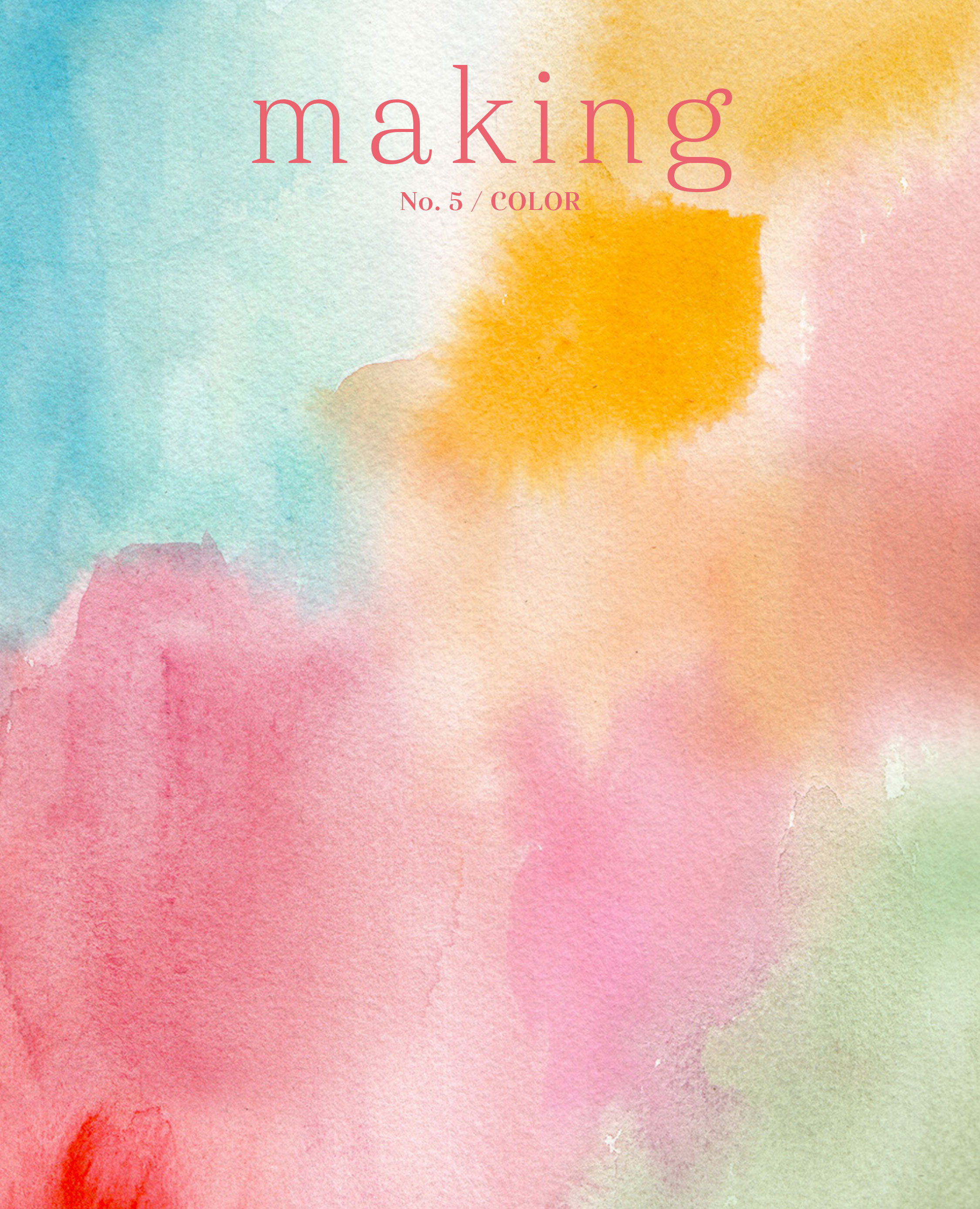 Making No 5 - Colours