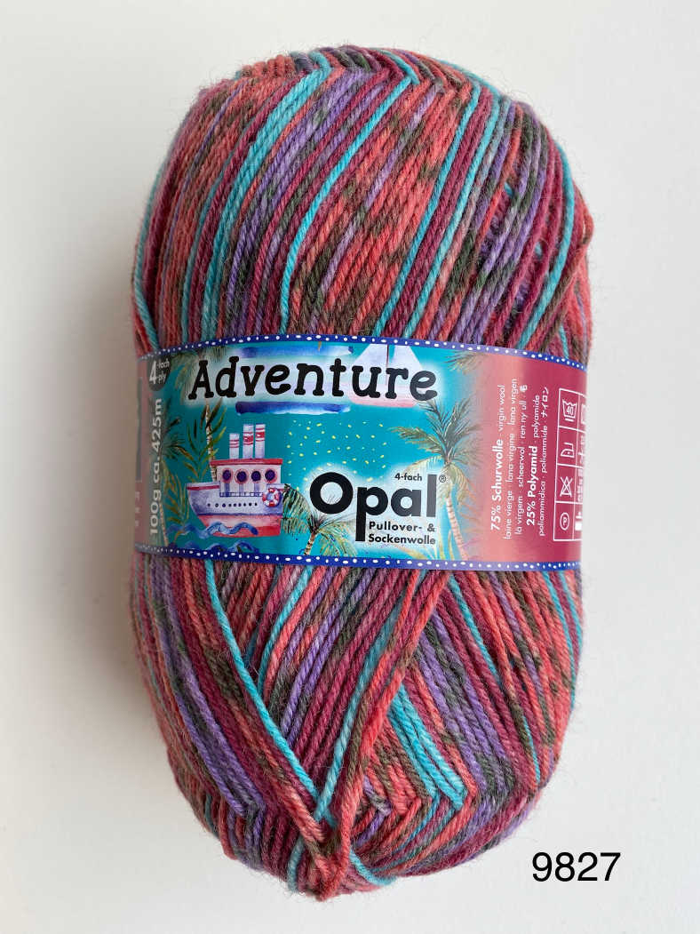 Opal Adventures 4ply Sock Wool