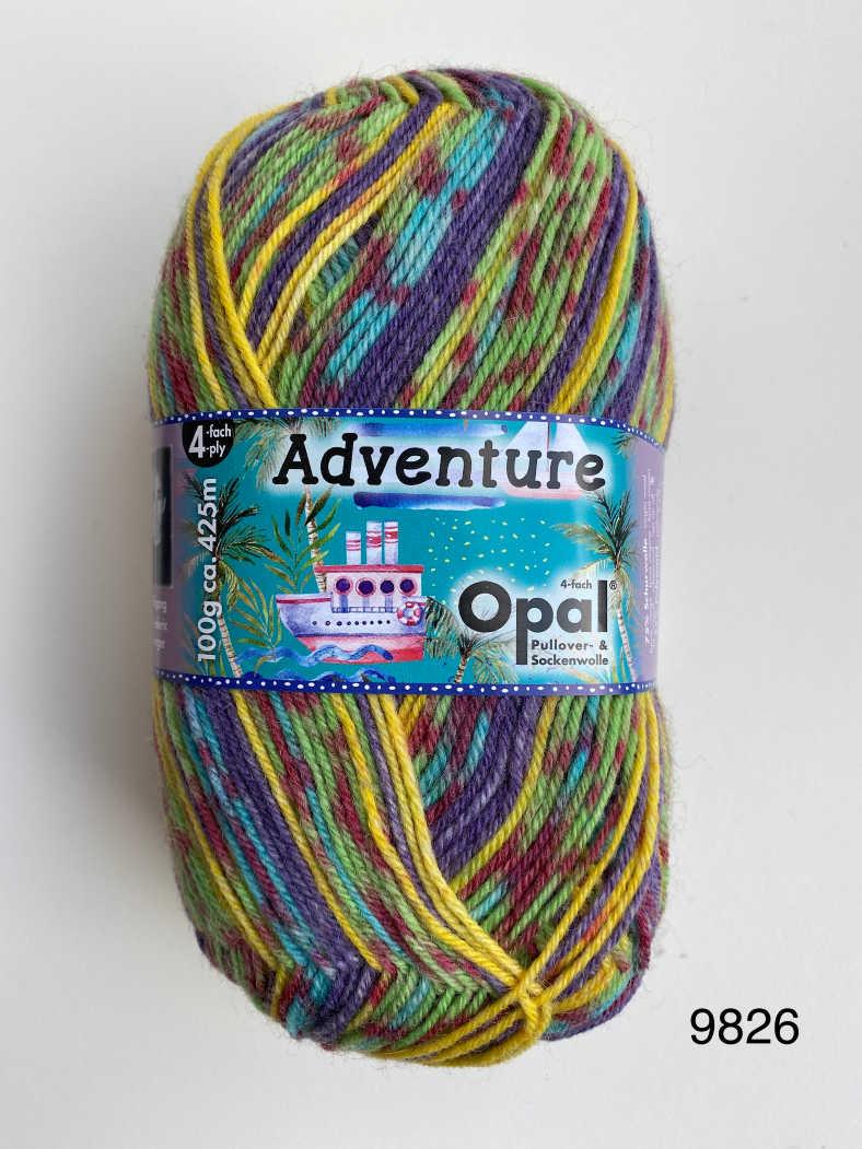 Opal Adventures 4ply Sock Wool