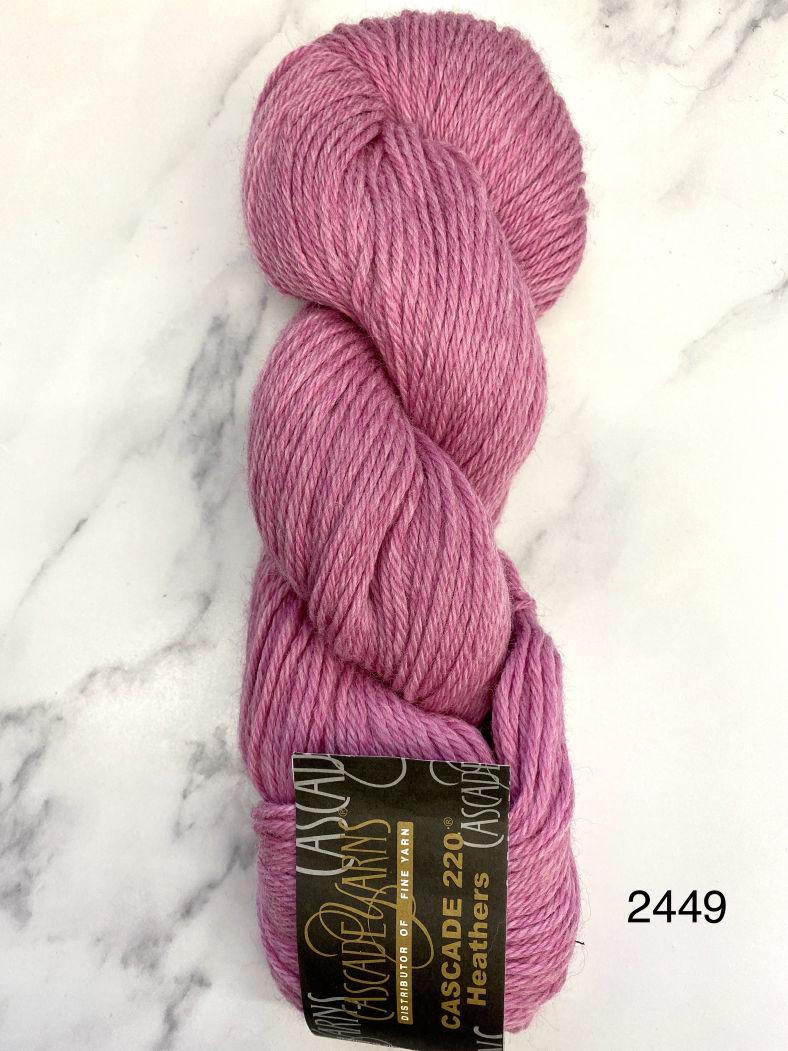 Cascade 220  - Heather Colourways