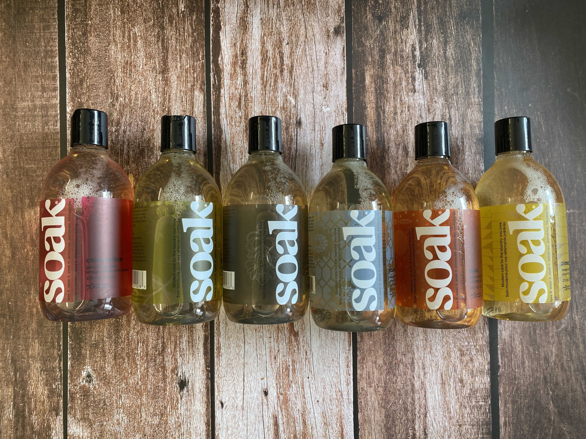 Soak Wash - 357ml * Back in Stock