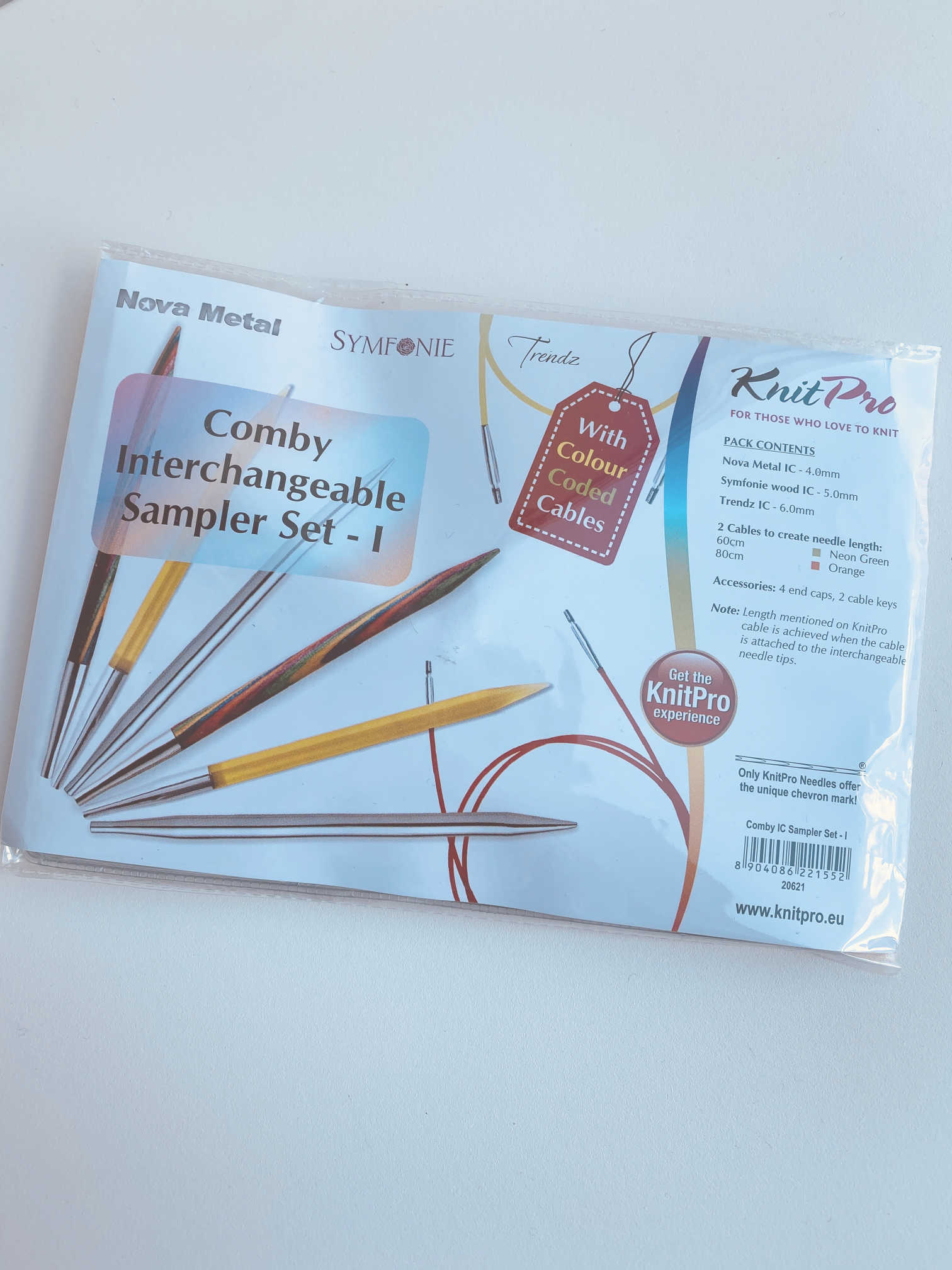 Knit Pro Comby Interchangeable Sampler Set - I
