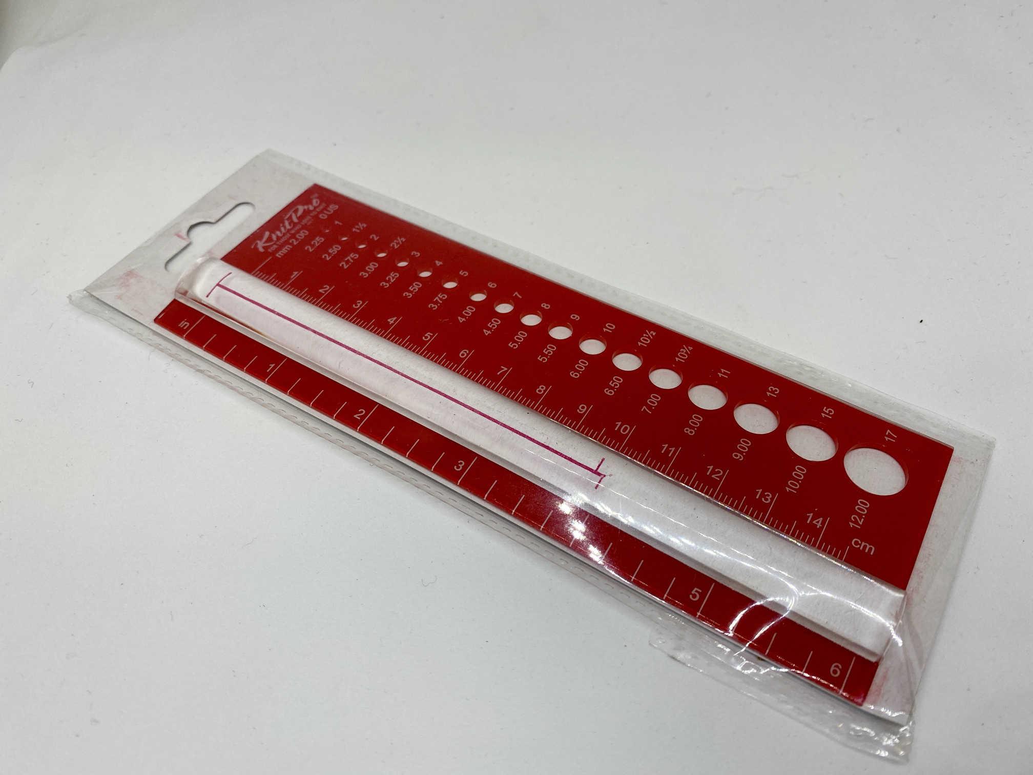 Knit Pro Needle Gauge