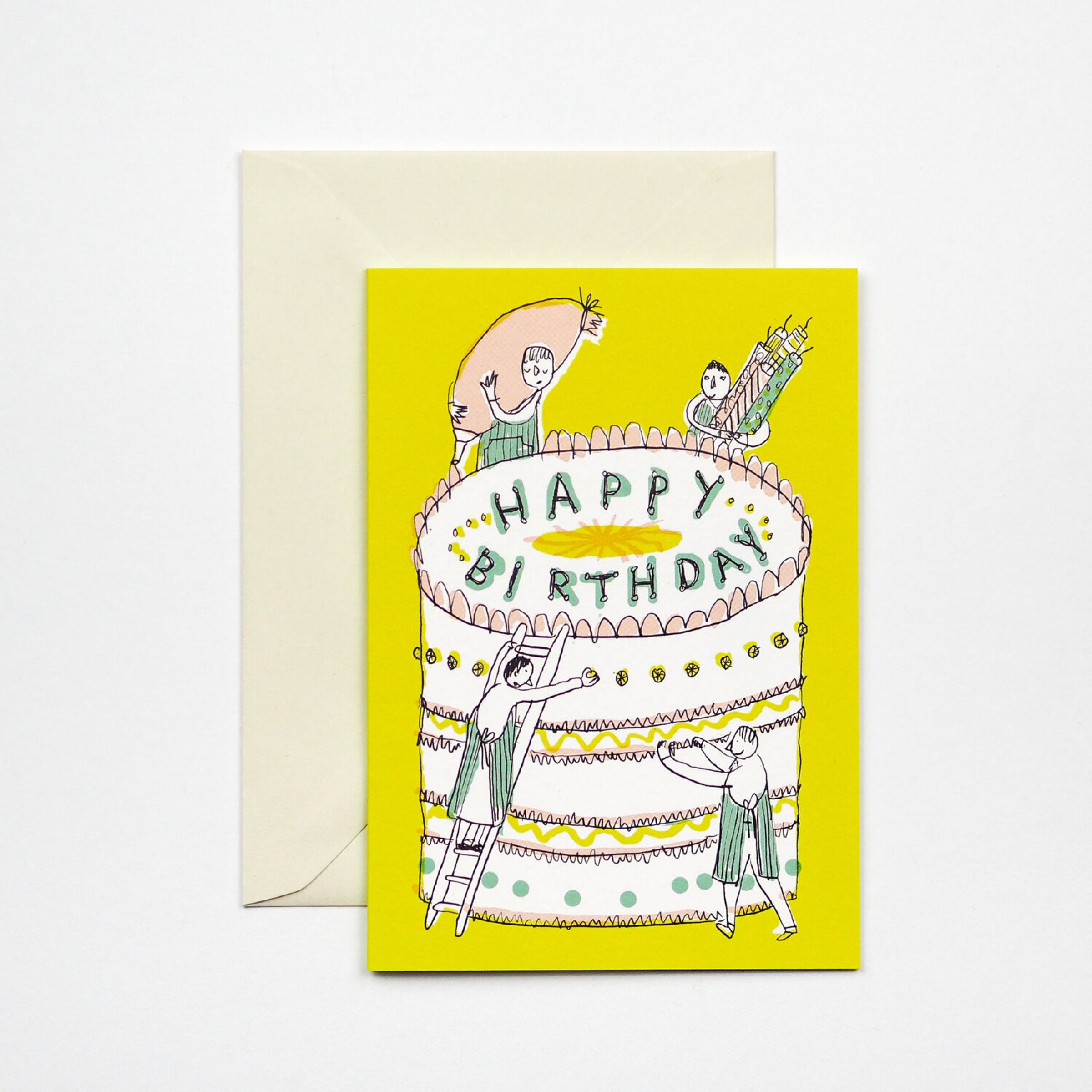 Massive Cake Card by Hadley Paper Goods