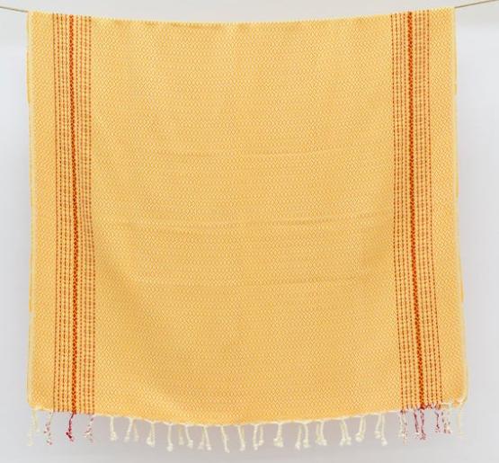 Organic Turkish Peshtemal Towel 100 x 180cm