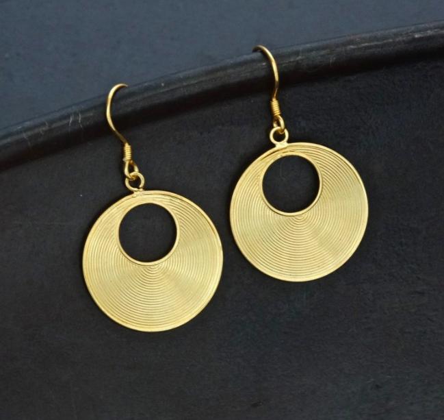 Moon in Sun Earrings