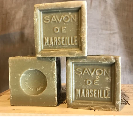 600g Savon De Marseille French Soap Cube Olive Oil 72%