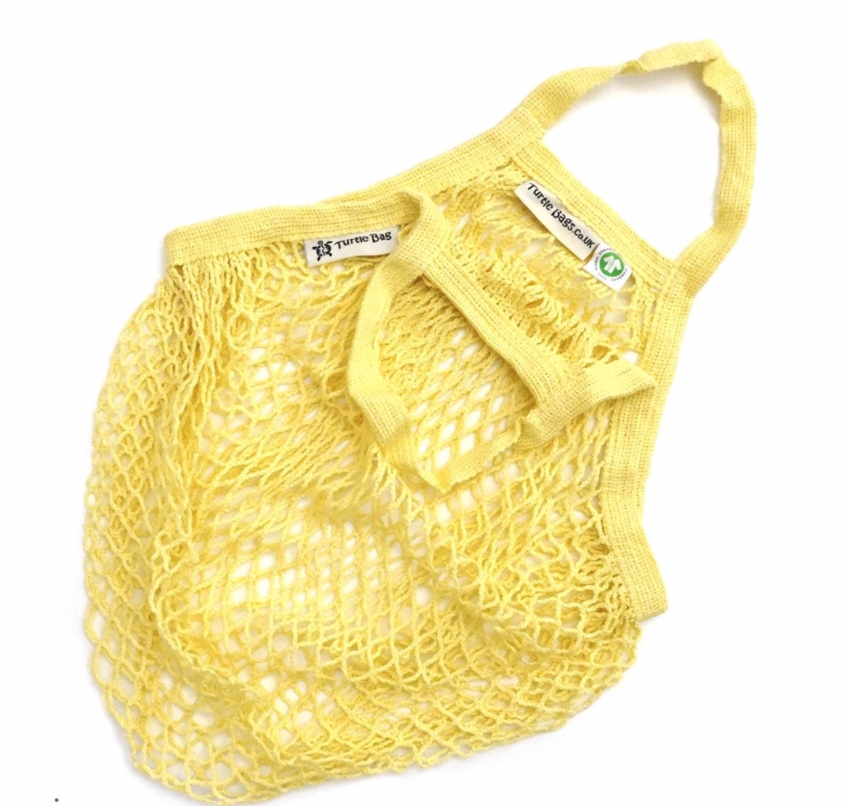 Organic Short Handled String Bag