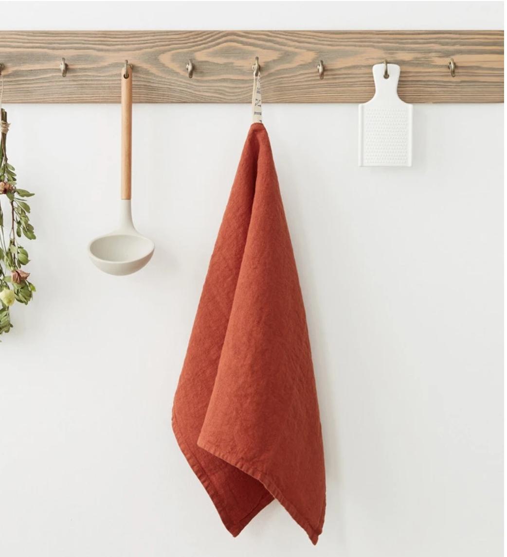 Washed Linen Tea Towels