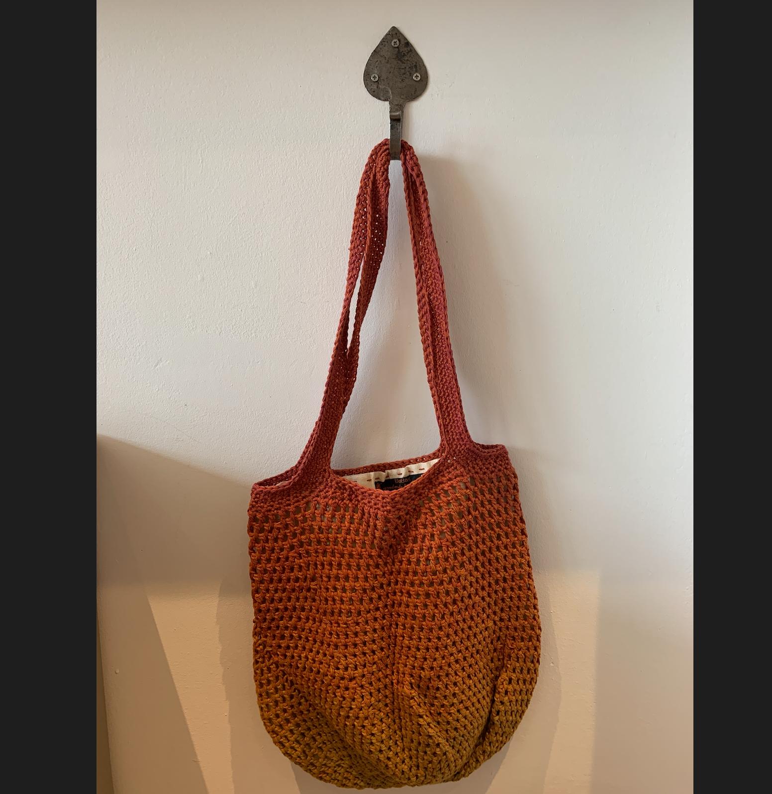 Hand Crochet Cotton Bags