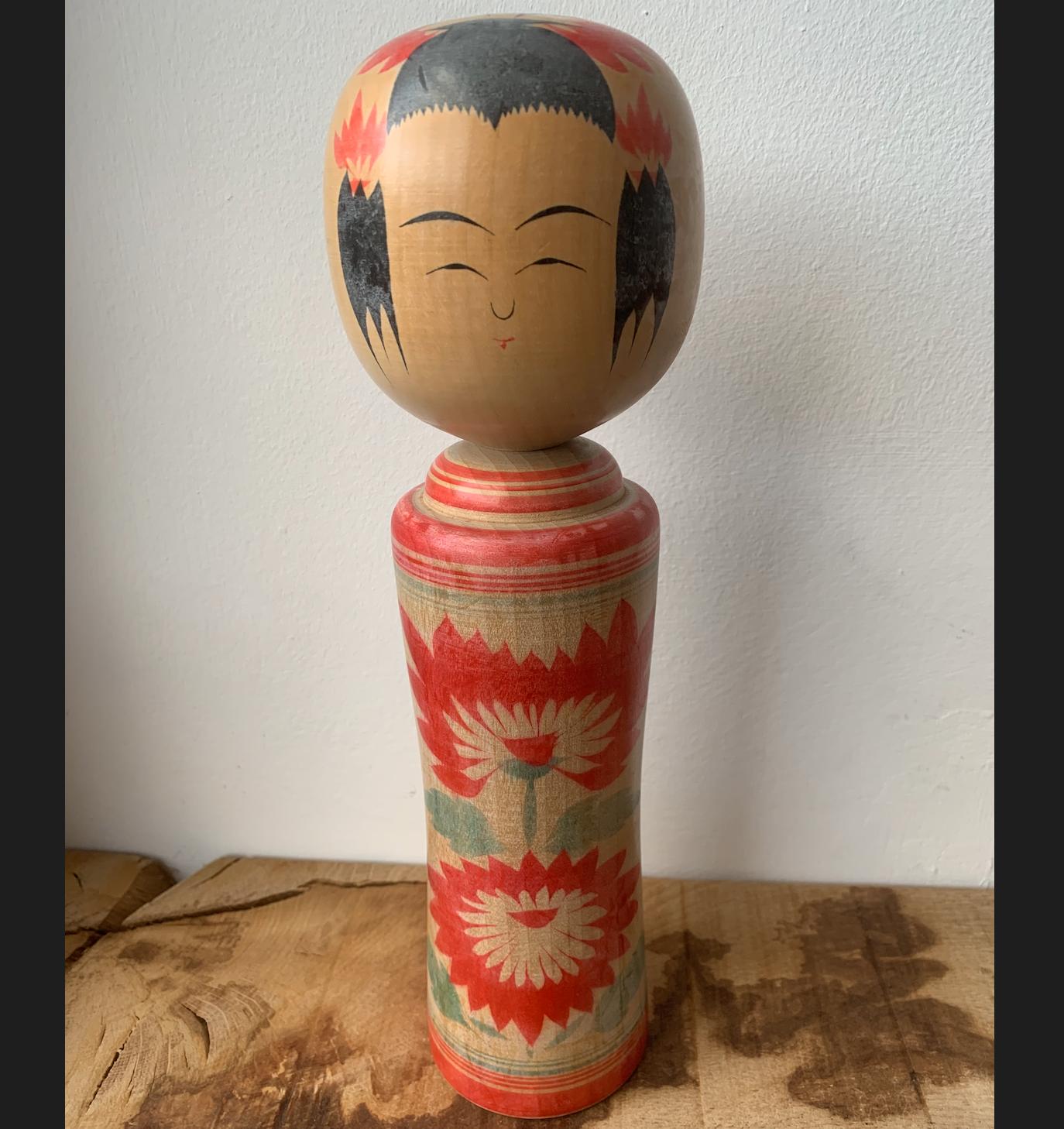 Vintage Kokeshi Doll 14n