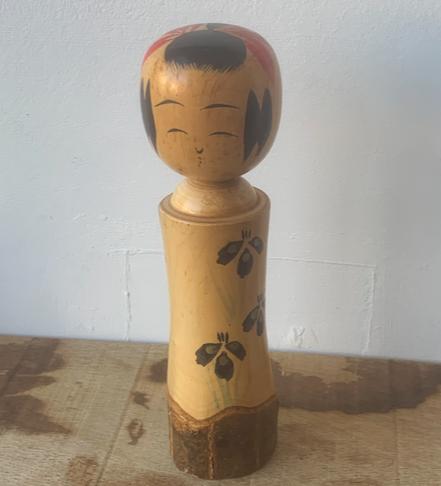 Vintage Kokeshi Doll 23W