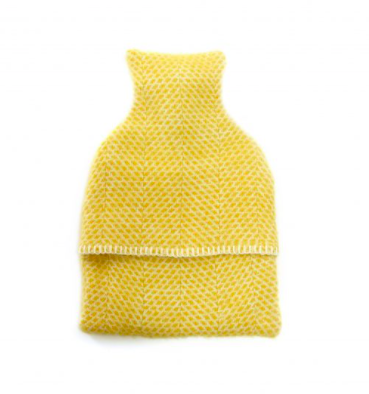 Hot Water Bottle with Wool Cover