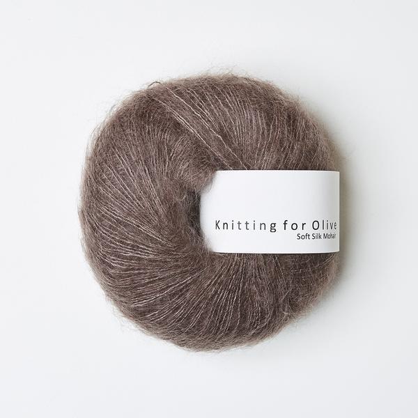Blomme-ler (Soft Silk Mohair)