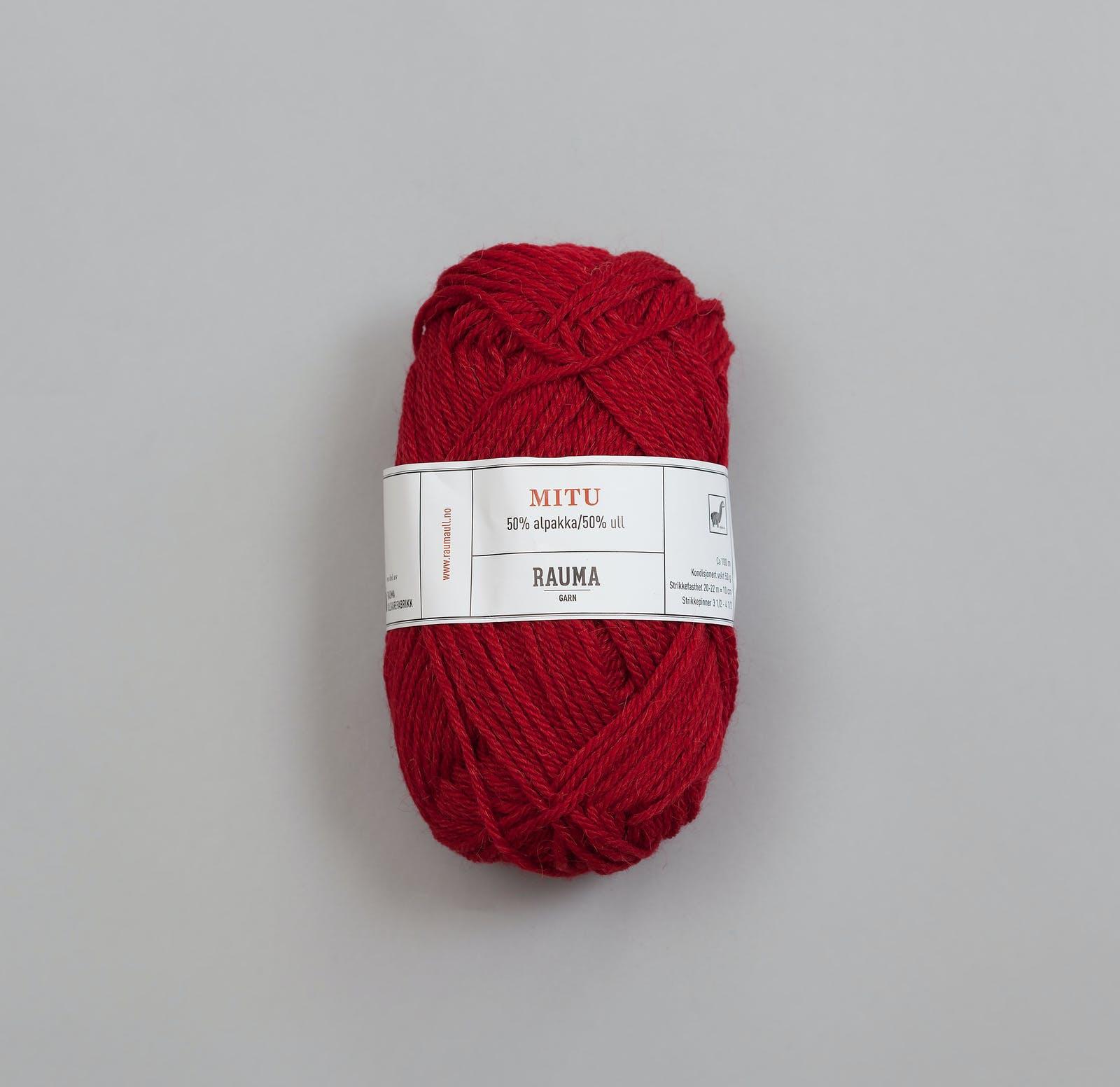 6085 Dyp rød - Mitu