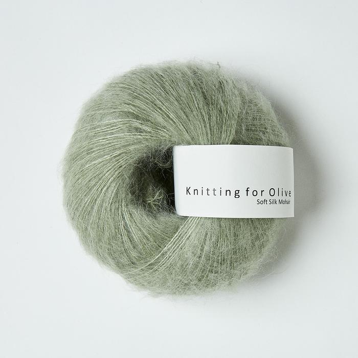 Støvet artiskok (Soft Silk Mohair)