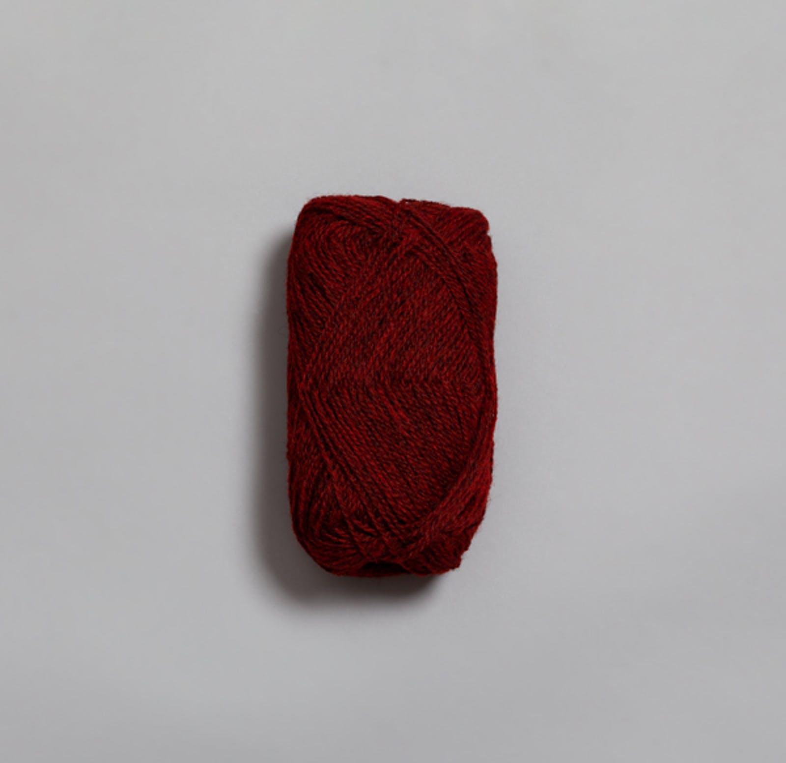 Finull 4120 rød melert
