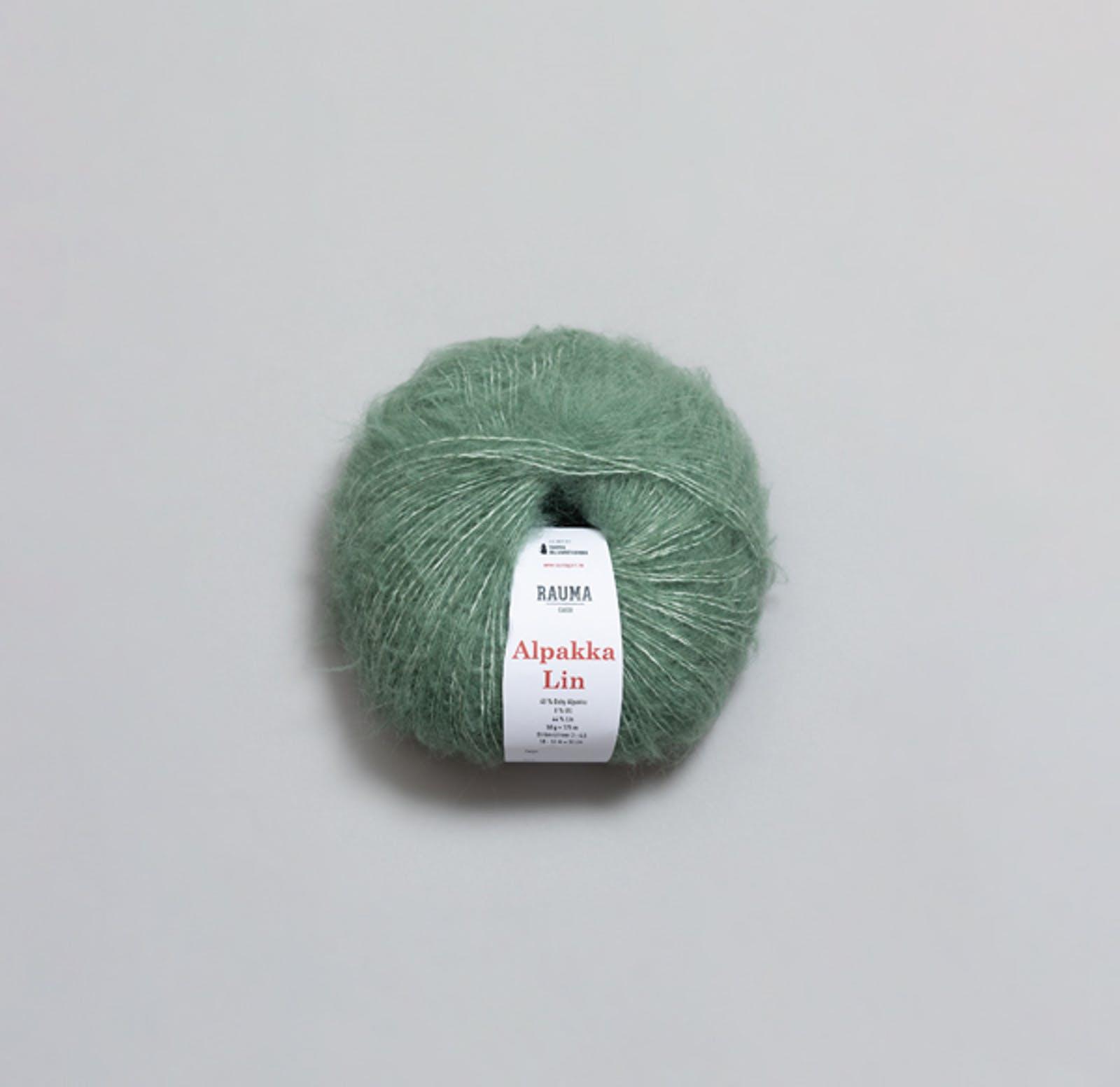 1364 Jadegrøn - Alpakka Lin
