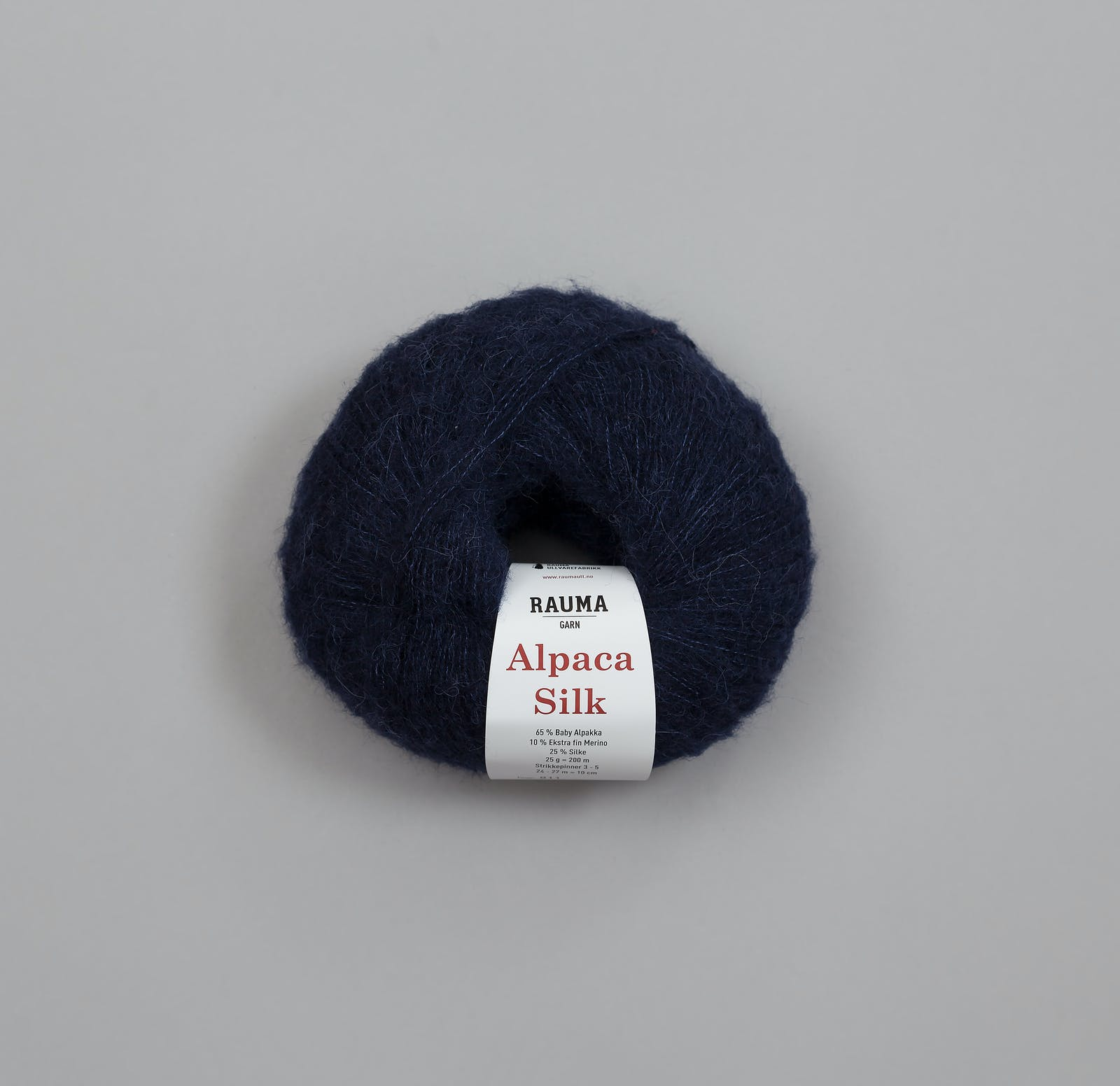 5594 Marineblå - ALPACA SILK