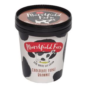 Marshfield 500ml Chocolate Fudge Brownie