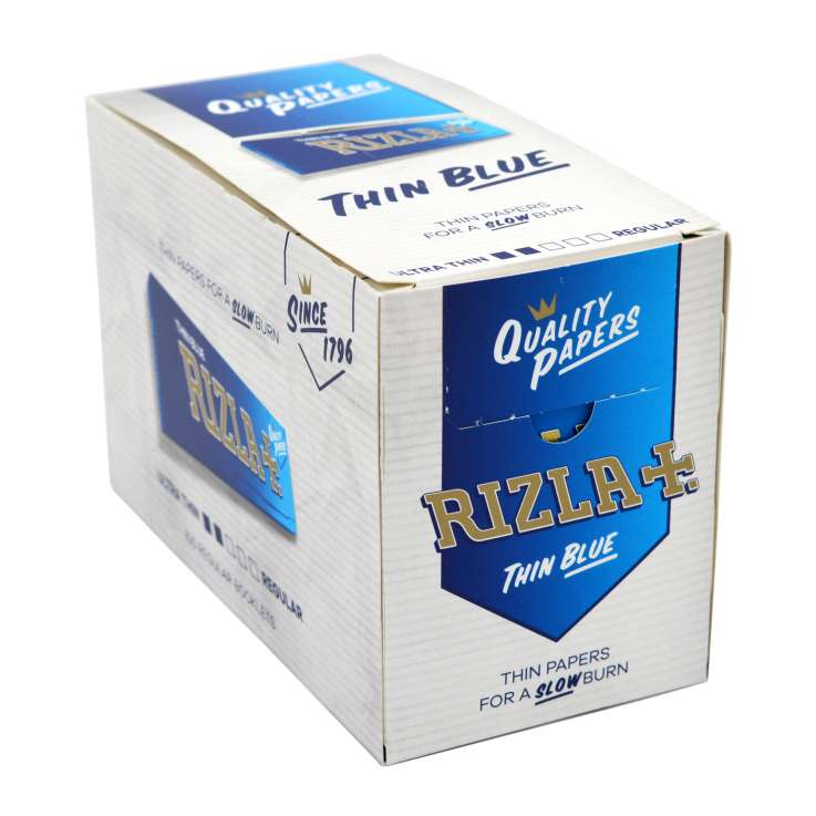 Rizla Blue Thin Rolling Papers 50 Pack - Regular