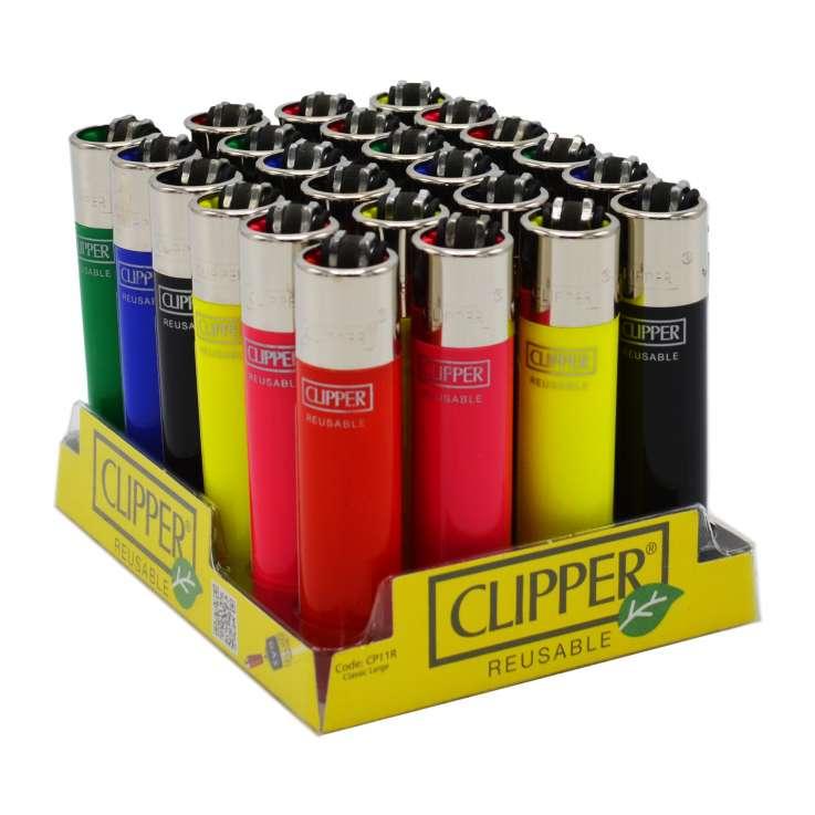 Clipper Flint Lighters - Assorted Colours