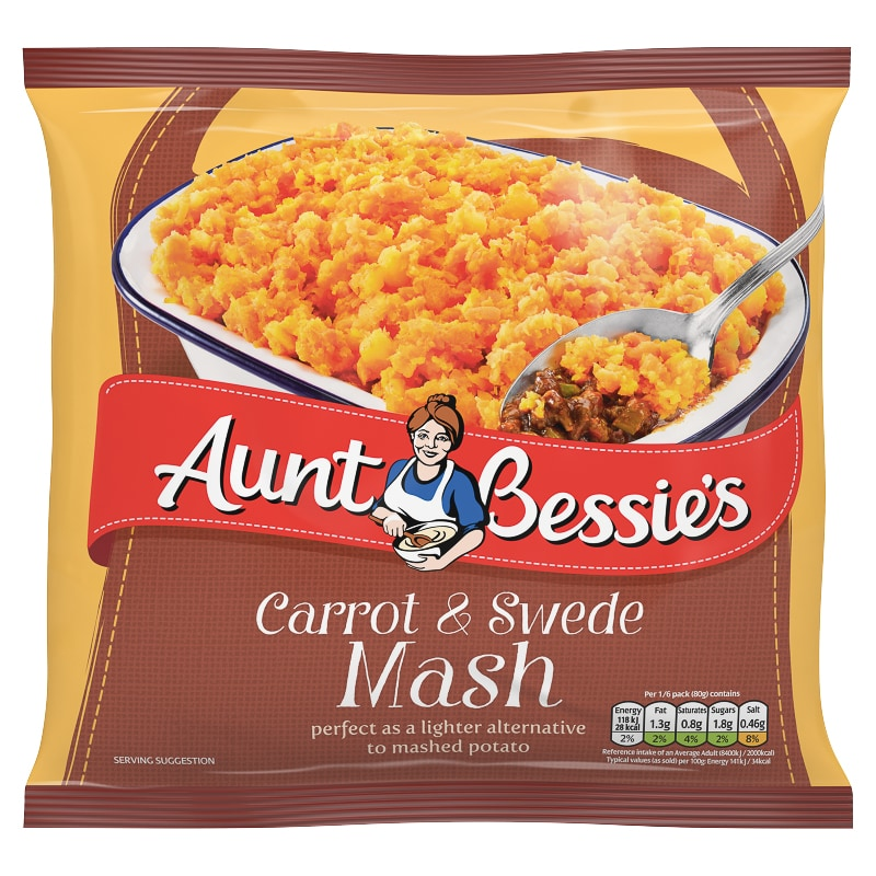 Aunt Bessies Carrot and Swede Mash 500g
