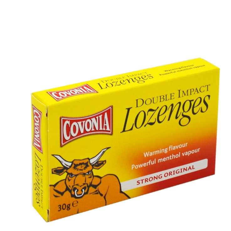 Covonia Double Impact Lozenges 30g - Original