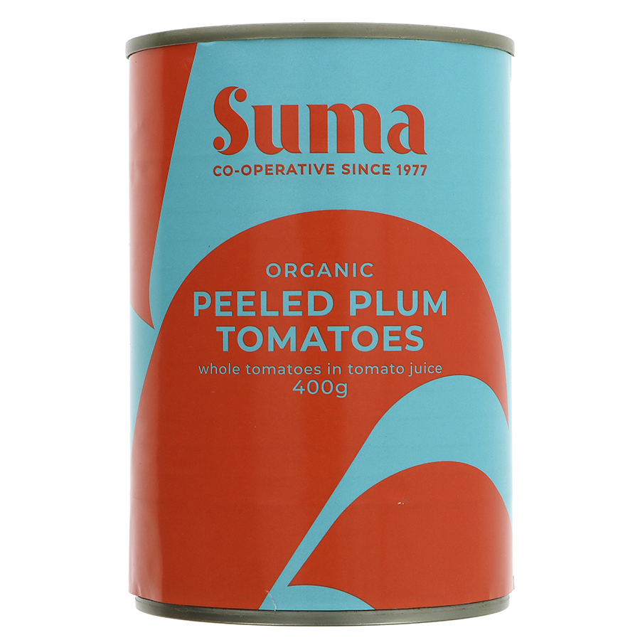 Suma Peeled Plum Tomatoes