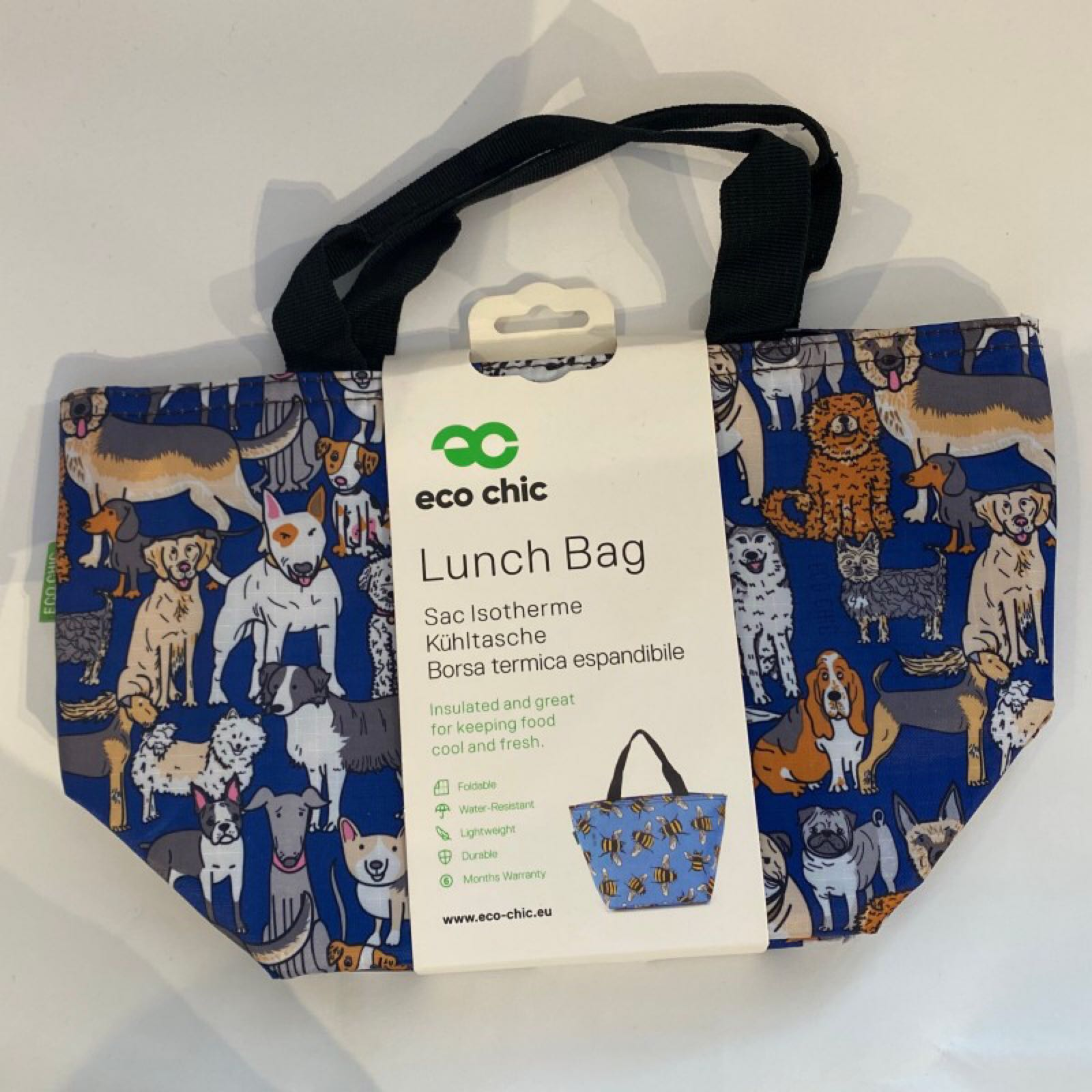 Blue Dogs Lunch Bag