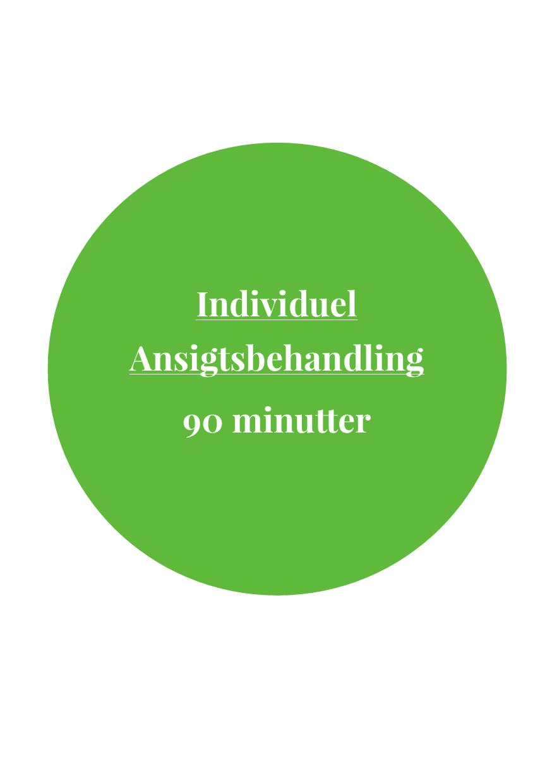 Individuel Ansigtsbehandling 90 Minutter