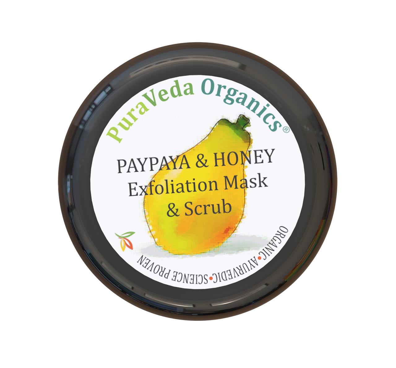 Papaya & Honey Exfoliation Mask & Scrub