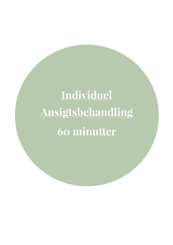 Individuel Ansigtsbehandling 60 Minutter