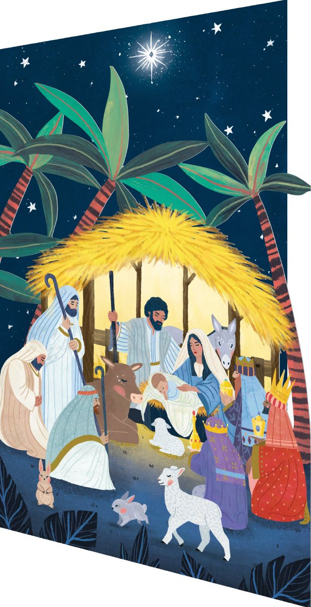 Christmas Icons - Nativity - Cutout