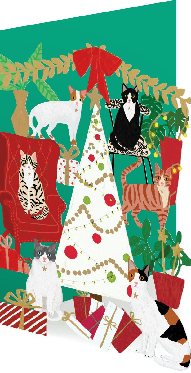 Christmas Cats - Cutout